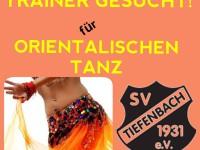 TRAINER GESUCHT für ORIENTALISCHEN TANZ